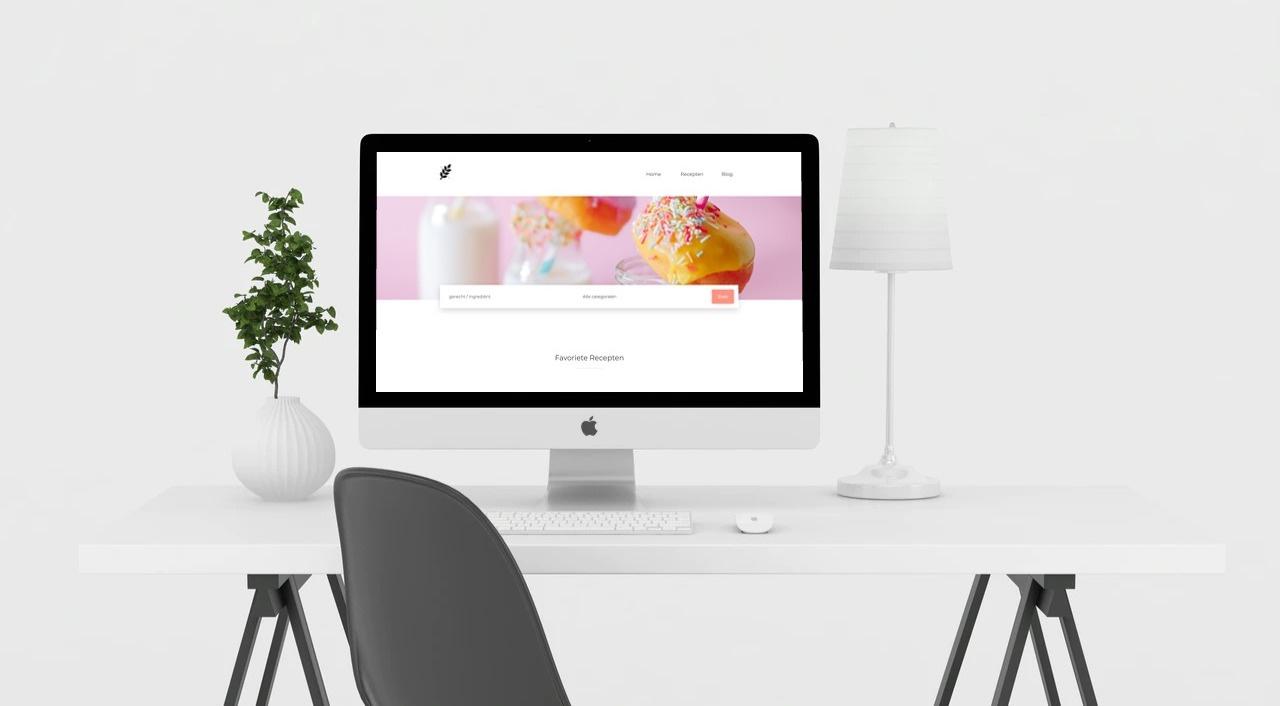 recepten zonder gluten website