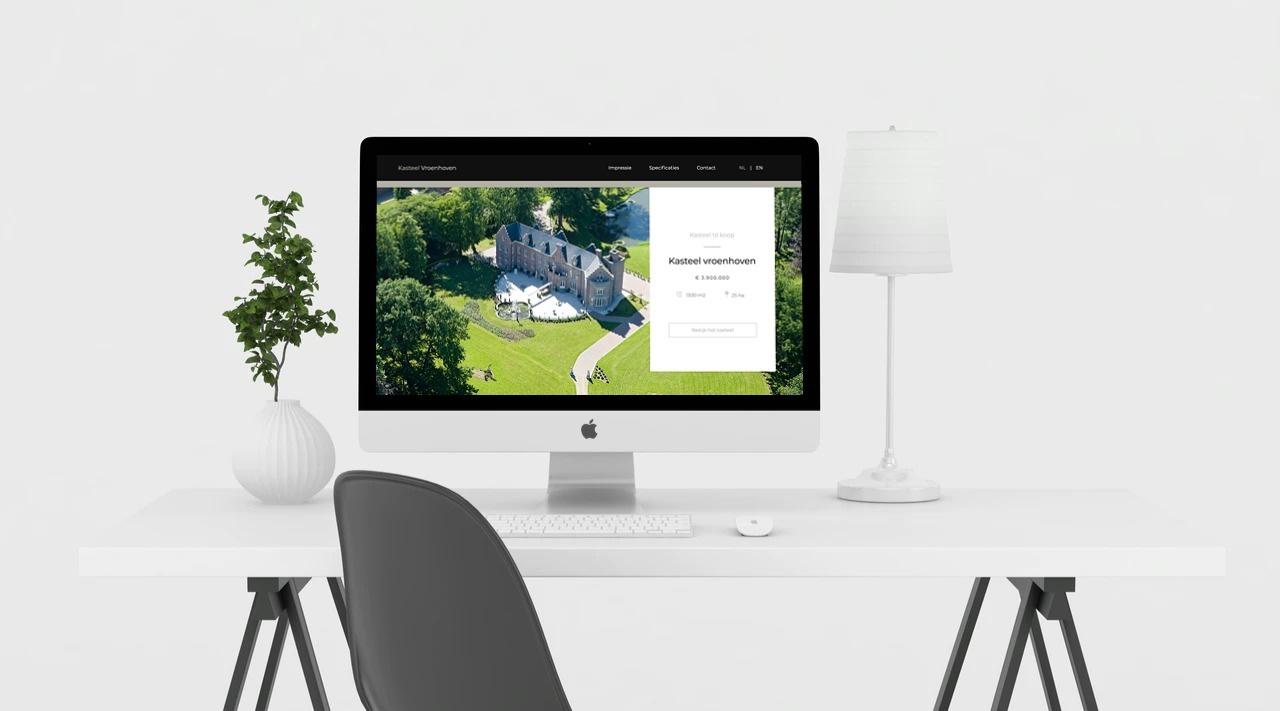 website kasteel vroenhoven